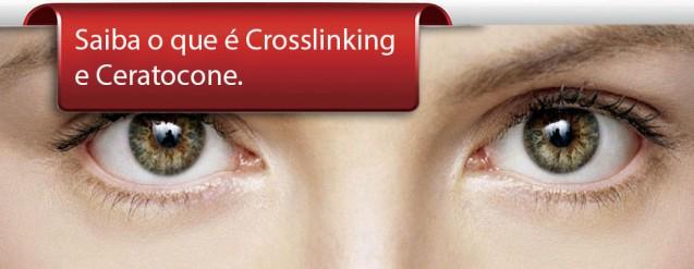 Tratamento Crosslinking para ceratocone