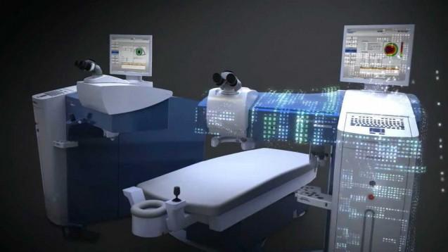 Novo equipamento para cirurgia refrativa Curitiba Dr. Irineu Antunes Neto