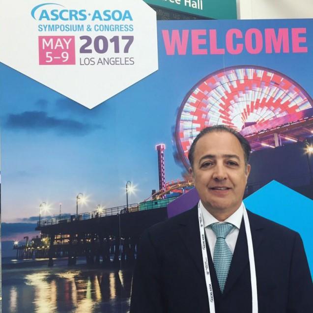 Dr. Irineu Antunes Neto participa do maior congresso do Mundo de cirurgia de catarata e cirurgia refrativa
