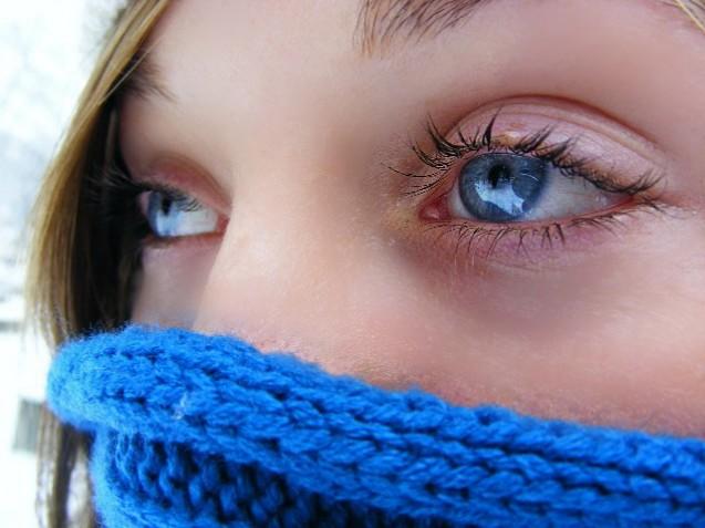 Cuidados com os olhos no inverno
